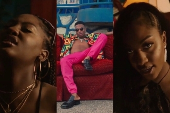 Wizkid Finally Drops Essence Video Featuring Tems, See Photos From The Music Video & Fans Reactions